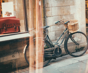 bicycle, indie, and street image