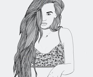 black white image