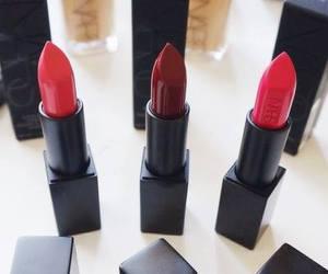 lipstick, makeup, and nars image