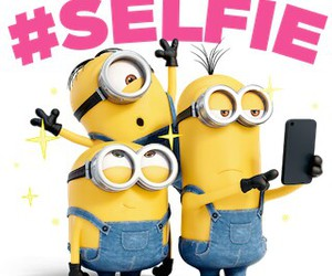 minions and selfie image