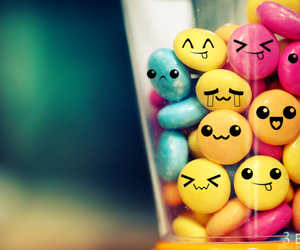 colors, smile, and candy image