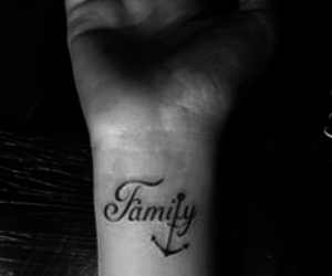 family and tatto image