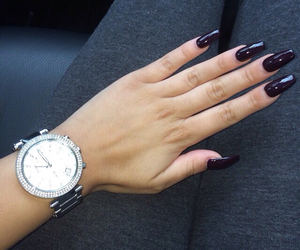 nails, watch, and accessories image