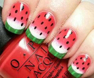 nails, fashion, and summer image