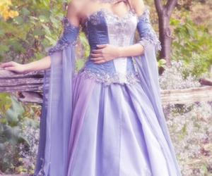dress, princess, and beautiful image