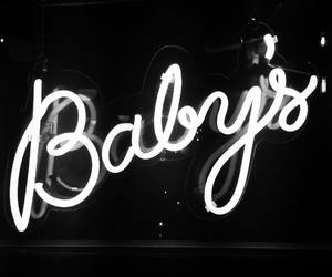 baby, light, and neon image