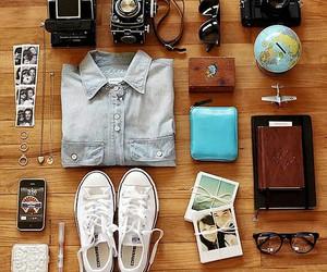 travel, camera, and converse image