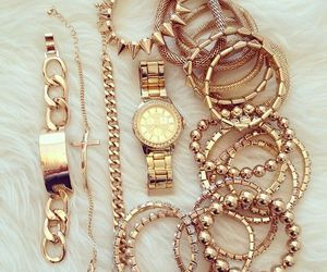 accessories and gold image