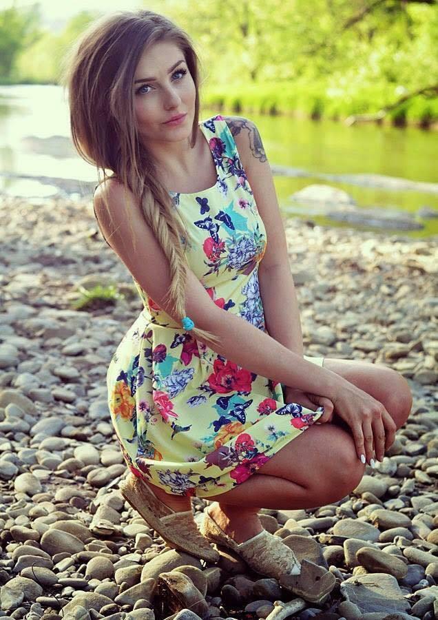girl, beautiful, and dress image