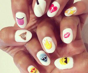 nails and emoji image