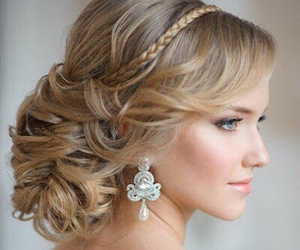 elegant and hair style image