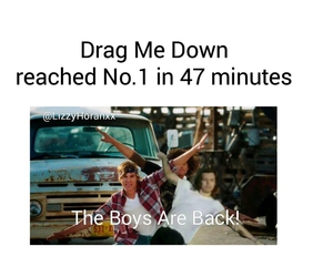 harry, one direction, and dragmedown image