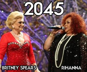 funny, rihanna, and britney spears image