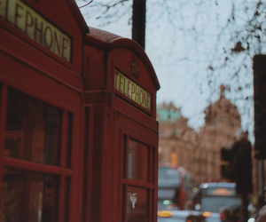 london, telephone, and uk image