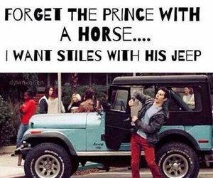 teen wolf, stiles, and jeep image
