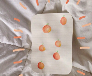 aesthetic, peaches, and art image