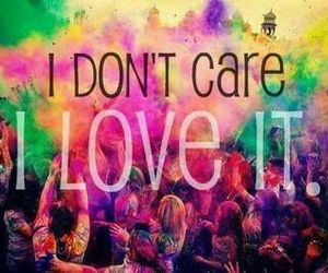 I love it, care, and party image