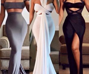 beautiful, fashion, and grey image