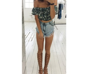 summer, fashion, and goals image