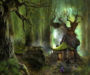 art, enchanted, and whimsical image