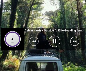 calvin harris, Ellie Goulding, and music image