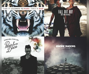 fall out boy, save rock and roll, and 30 seconds to mars image