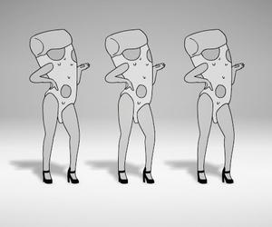 pizza, beyoncé, and food image