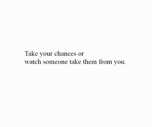 black and white, chance, and chances image