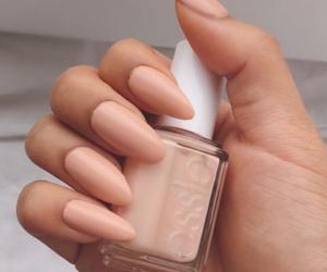 nails, nail polish, and essie image