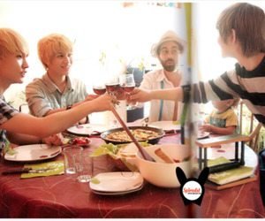Barcelona, key, and Onew image