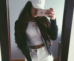 adorable, clothes, and long hair image