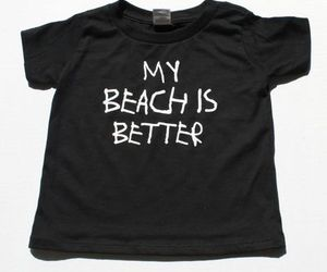 beach, t-shirt, and tee shirt image