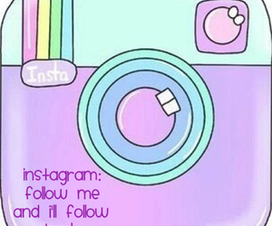 bubbly, follow, and instagram image