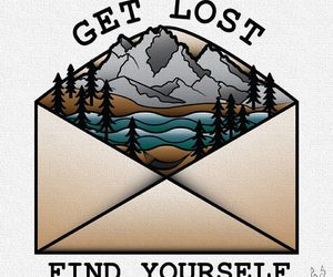 cartoon, get lost, and nature image