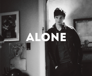 teen wolf, alone, and daniel sharman image
