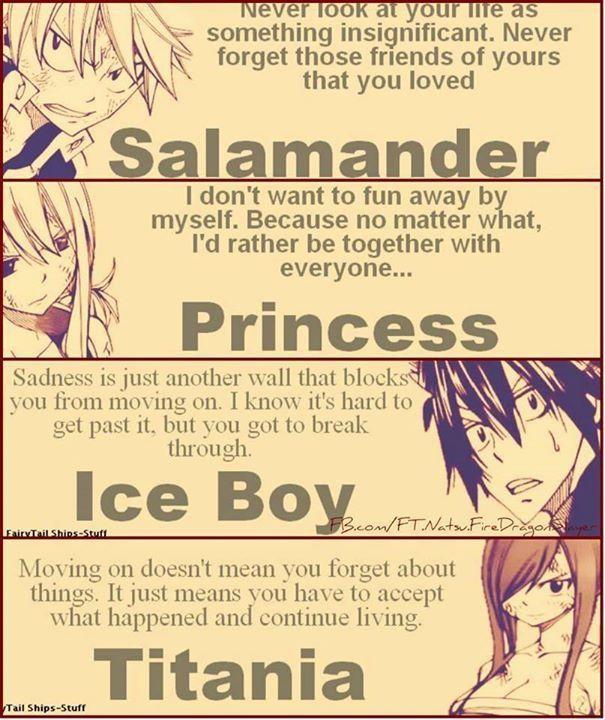 the main characters anime fairy tale fairy tail