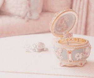 cute, pink, and vintage image
