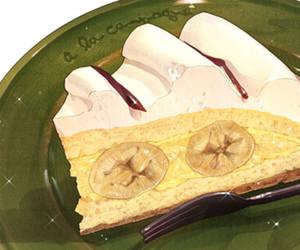 cake and anime food image