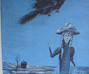 1961, blue, and ghosts image