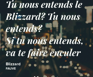 blizzard, french, and musique image