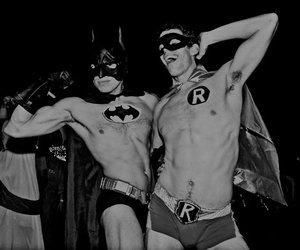 batman, boy, and mask image