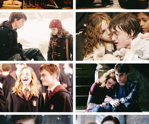 couple, emma watson, and hermione granger image