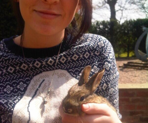 rabbit, gemma styles, and one direction image