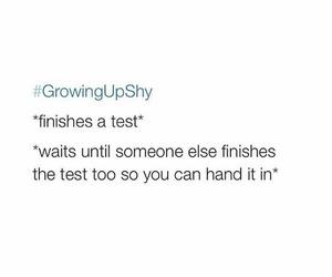 lol, school, and shy image
