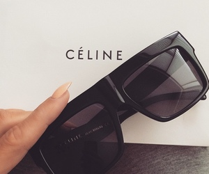 celine, fashion, and black image