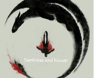 how to train your dragon, toothless, and hiccup image