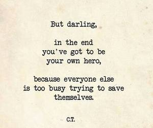 quotes, hero, and save image