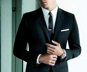 channing tatum, Hot, and suit image