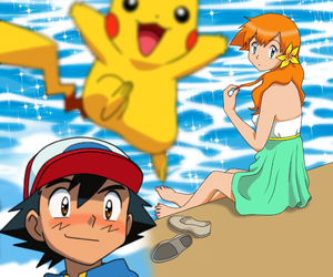 pokemon and ashxmisty image