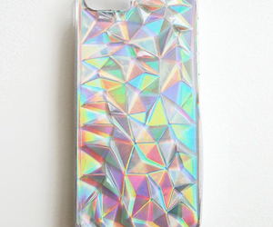 iphone, fashion, and holographic image